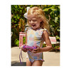 *Exclusive* Girl's Ruffle Sleeve Rashguard One Piece, Patchwork - One Pieces - 2