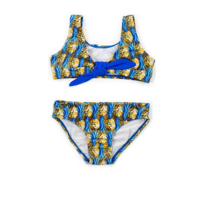 Tie Bikini, Blue Pineapple