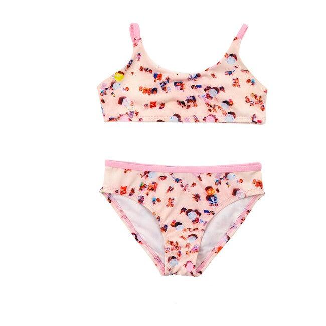 Sport Bikini, Pink Beach