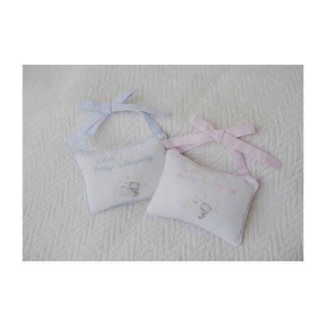Baby Door Pillow, Pink