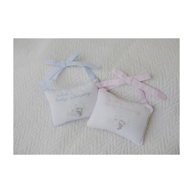 Baby Door Pillow, Blue