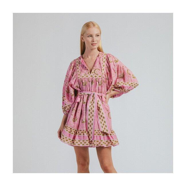 Women's Magdalena Mini Dress, Wildflower Print