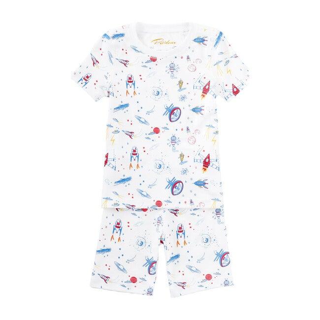 Rocket To Mars Summer Pajamas, Multi