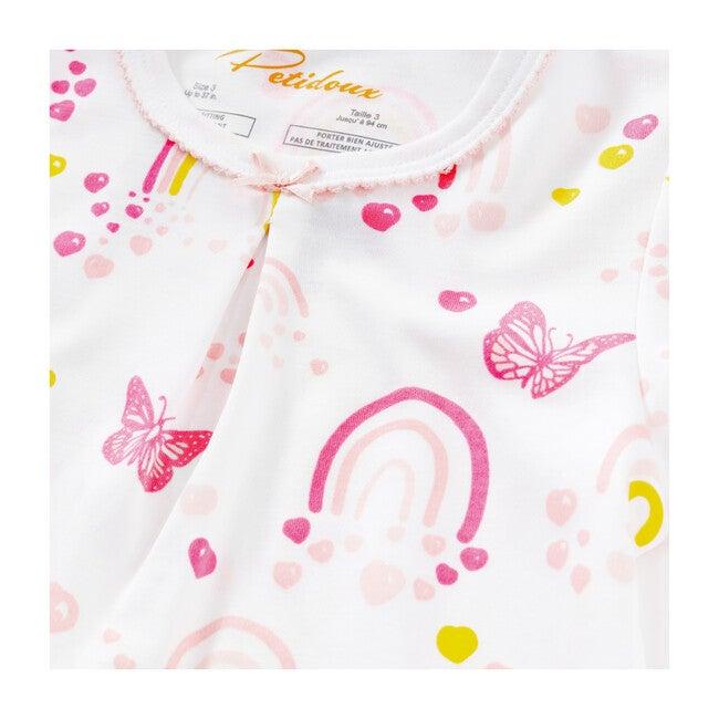 Over The Rainbow Sophia Set Girl Pajamas, Pink