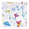 Lobsters On Vacation Summer Pajama Set, Multi - Pajamas - 2