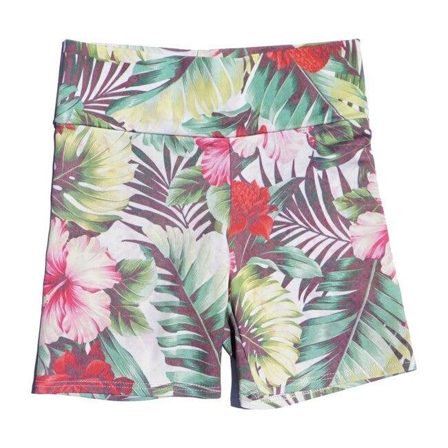 Bike Short, Tropical Jungle