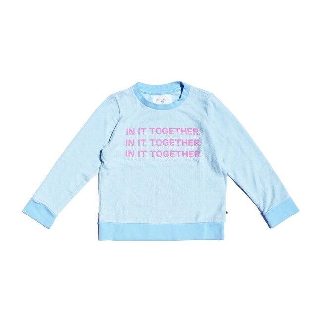 In It Pullover, Aqua
