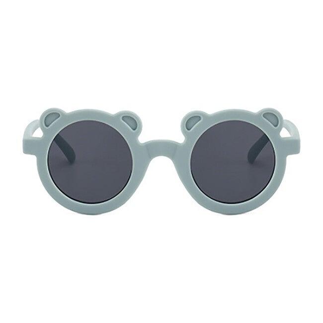 Round Bear Sunglasses, Sky Blue