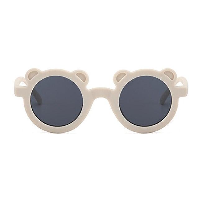 Round Bear Sunglasses, Sand Dollar