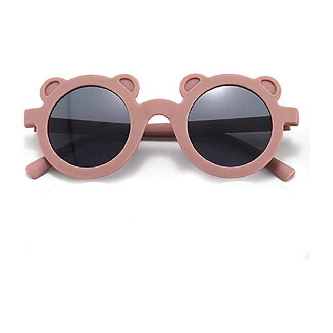 Round Bear Sunglasses, Dusty Rose