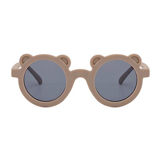 Round Bear Sunglasses, Coffee