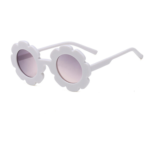 Flower Sunglasses, White Magnolia
