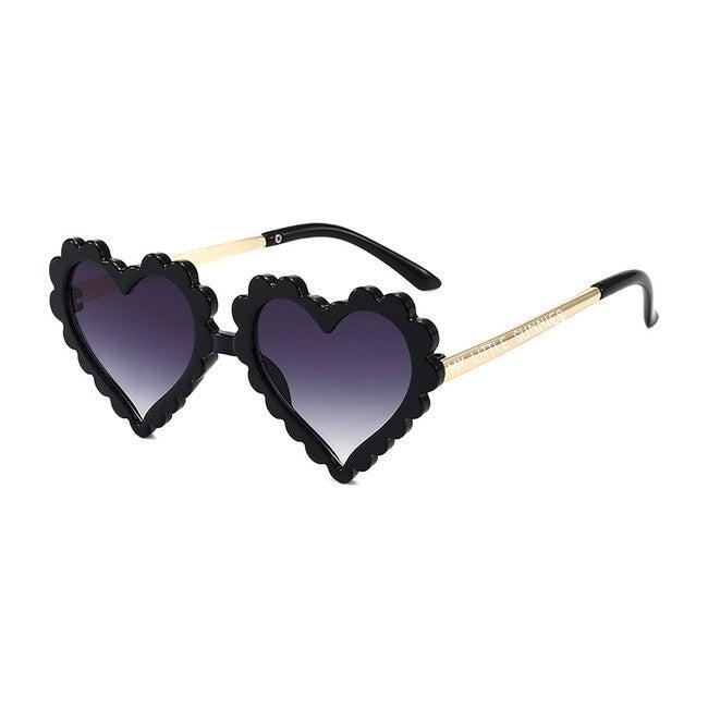 Heart Sunglasses, Black