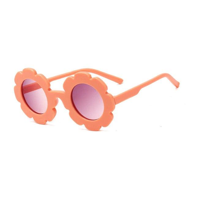 Flower Sunglasses, Peach