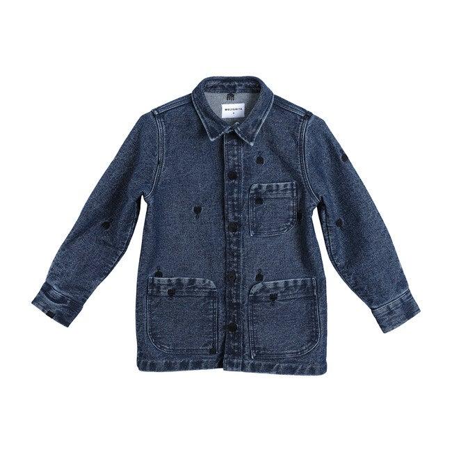 Jaime Shirt Jacket, Denim