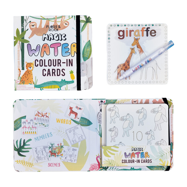 Jungle Water Pen and Cards
