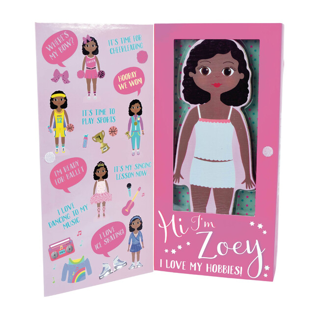 Zoey Magnetic Dress Up Character