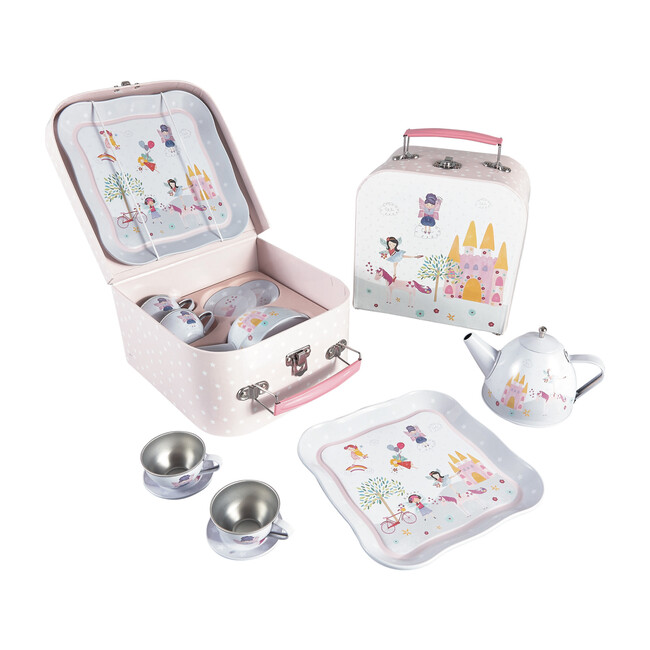 Fairy Unicorn Tin Tea Party Set