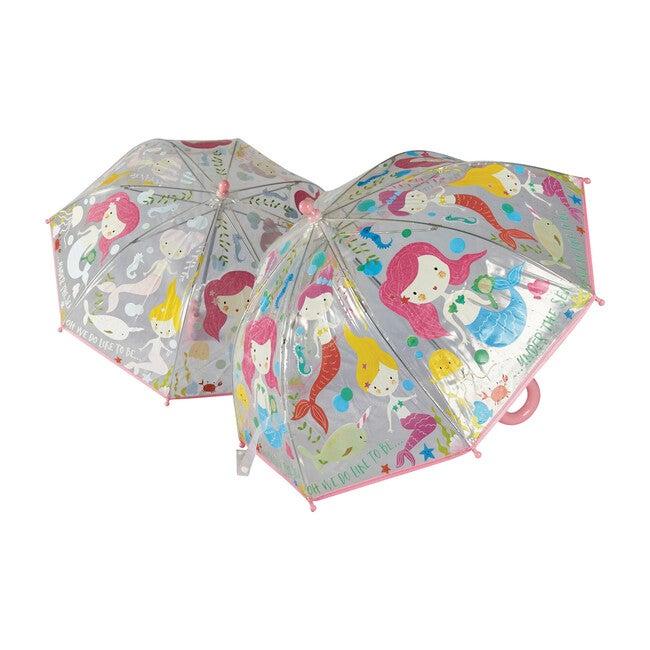 Mermaid Transparent Umbrella
