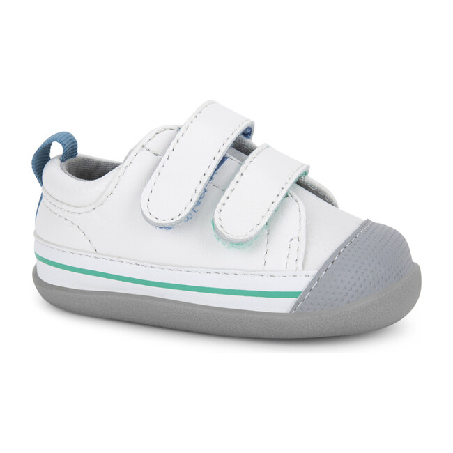 Waylon First Walker, White - Sneakers - 1