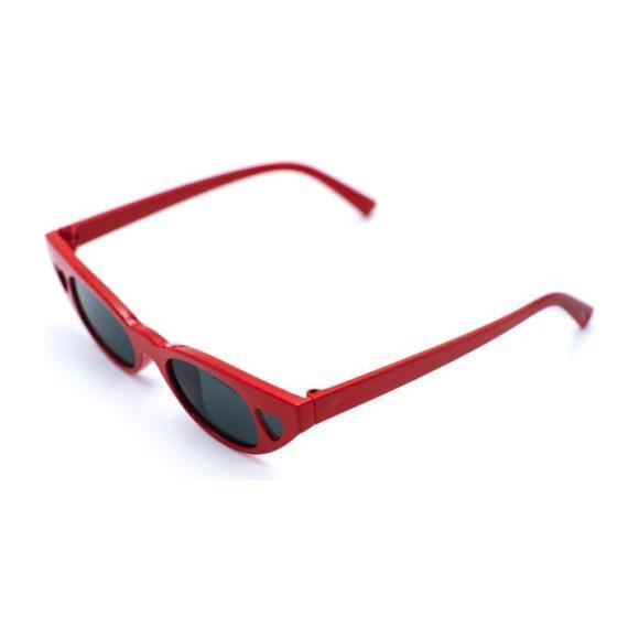 Nailah Sunglasses, Red
