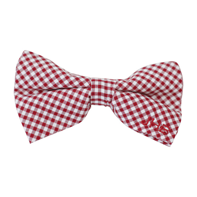 Bowentie, Rutledge Red Gingham