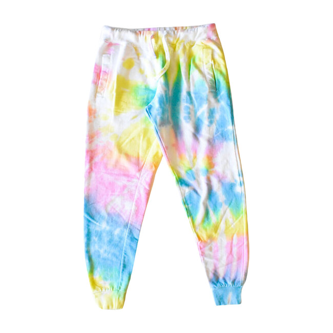 Adult Tie Dye Joggers, Pastel - Sweatpants - 1