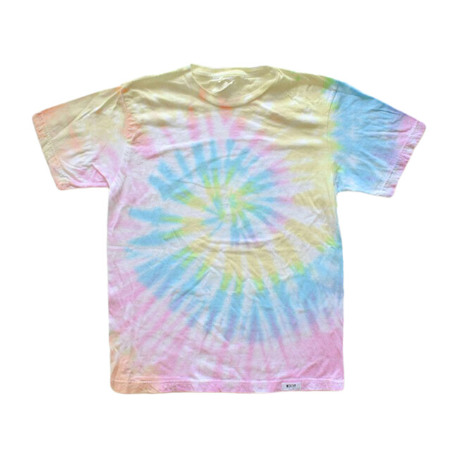 Adult Tie Dye T-Shirt, Pastel - Tees - 1 - zoom