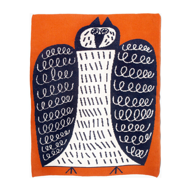 Night Owl Mini Blanket
