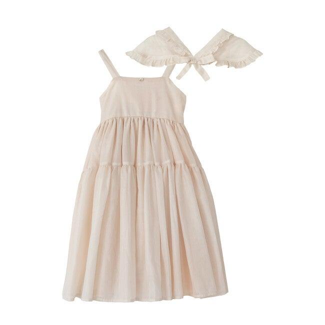 Pepa Dress, Pink Silk