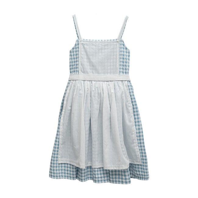 Oz Dress, Blue Gigham