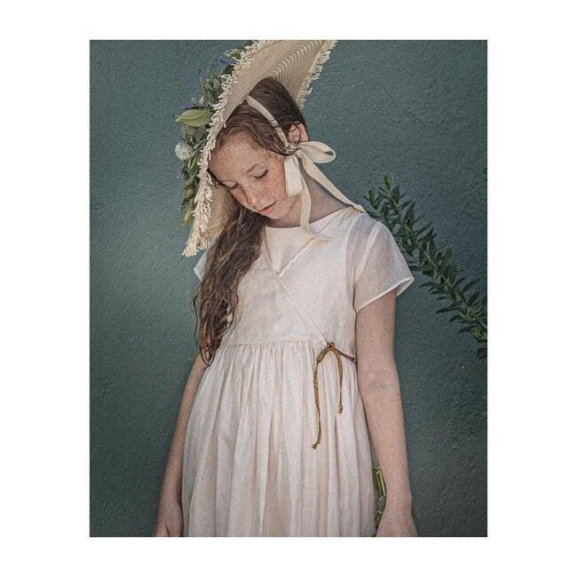 Alexa Dress, Pink Silk