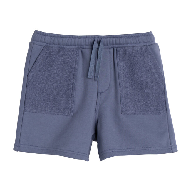 Leon Jogger Short, Dark Dusty Blue