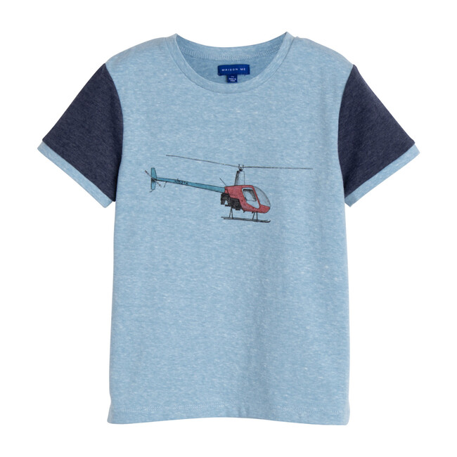 Ezra Graphic Tee, Helicopter
