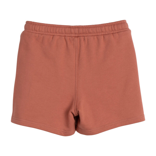 Leon Jogger Short, Dusty Red