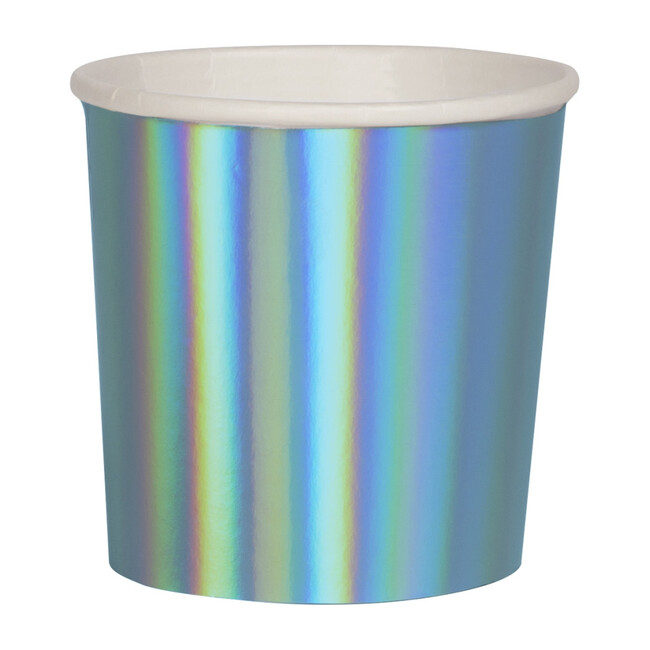 Holographic Blue Tumbler Cups - Drinkware - 1
