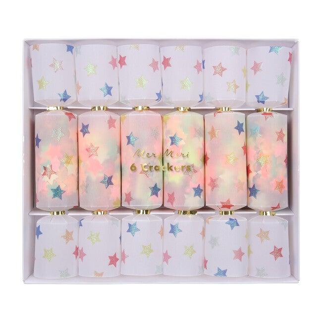 Multicolor Star Confetti Crackers