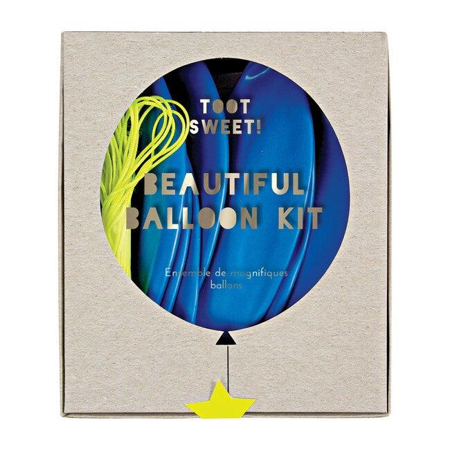 Blue Beautiful Balloon Kit