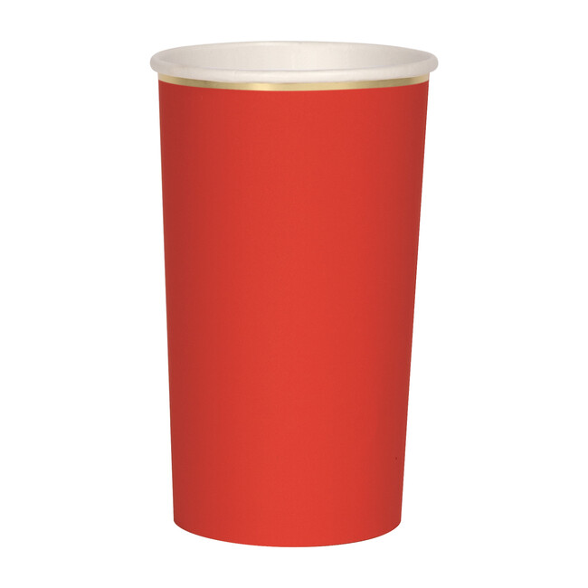 Red Highball Cups - Party - 1