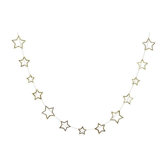 Gold Star Garland