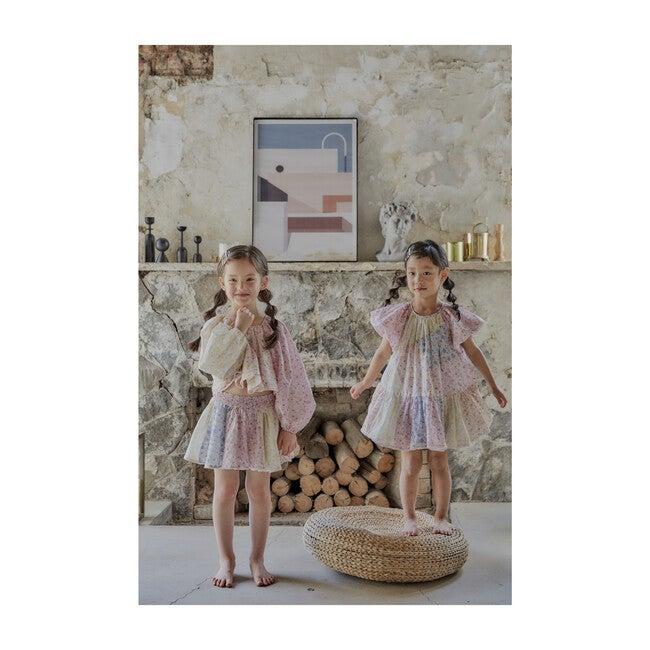 Juliet Bubble Mini Skirt, Multicolor