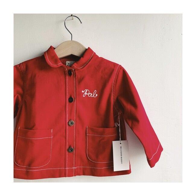 The Chore Coat, Red Denim