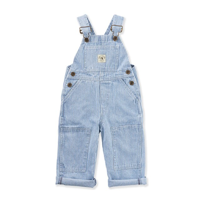The Knee Patch Overalls, Washed Railroad