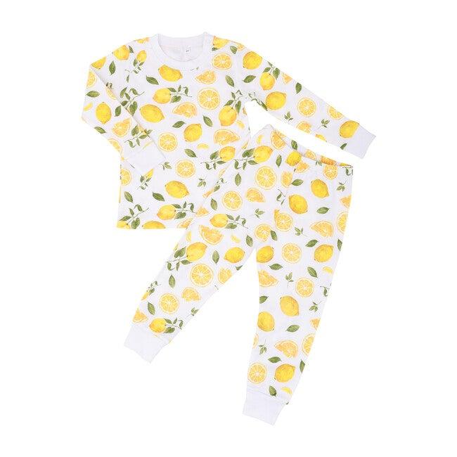 Lemon Two Piece Pajama