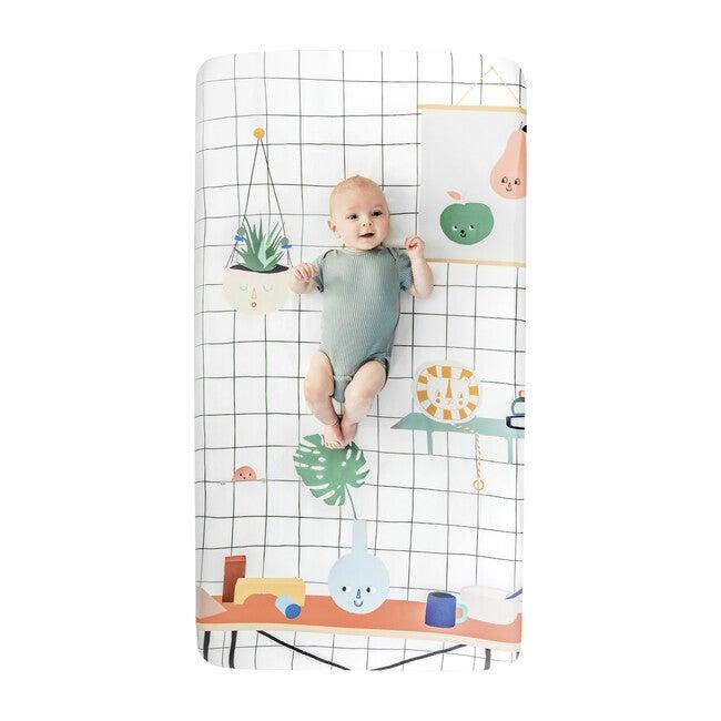 Baby's Room Standard Crib Sheet