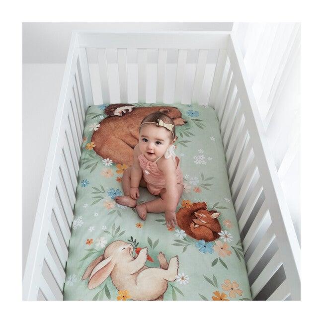 Enchanted Meadow Standard Crib Sheet
