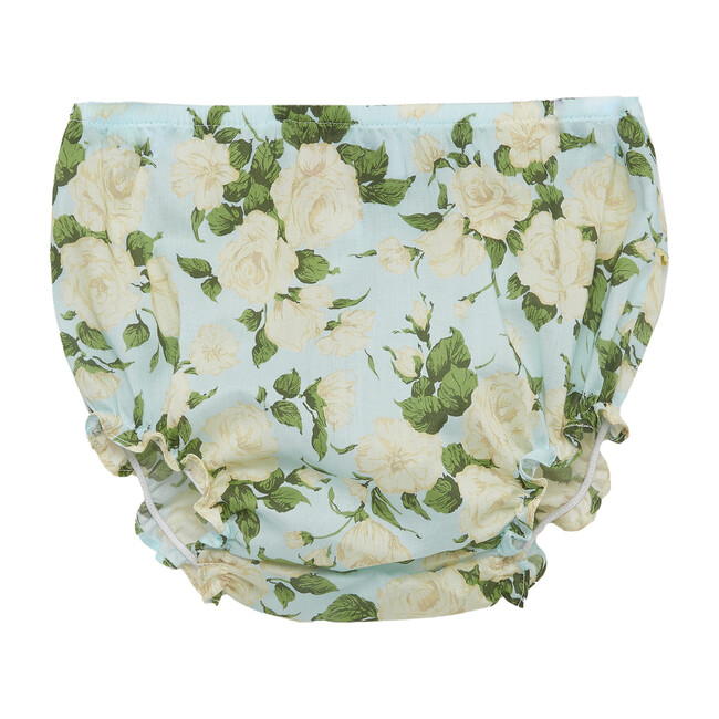 Liberty Carline Rose Knickers, Pale Blue
