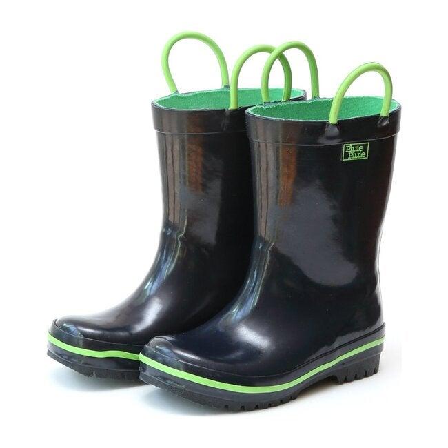 Rain Boots, Solid Navy