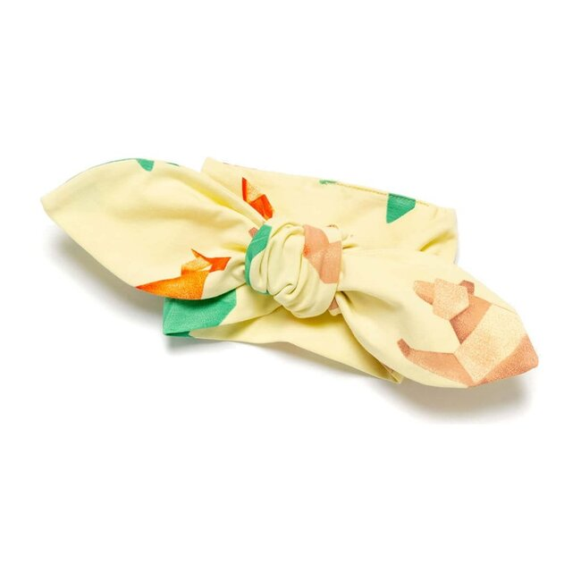 Origami Headband, Yellow