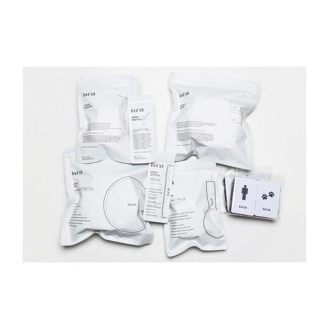 Mogo Feeding Kit, Light Grey